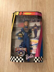 Mattel Barbie 50th Anniversary NASCAR Collector's Edition Barbie