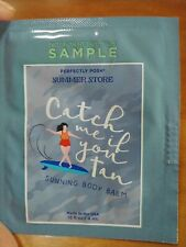 Perfectly Posh Catch Me If You Tan Sunning Body Balm Samples, lot of 4, retired