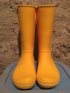 Stivali In Gomma Crocs Con Spilla Irlandese Tg W 6