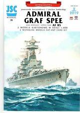 Card Model Kit – German Pocket Battleship, Graf Spee