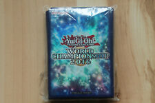 Card Sleeves Yugioh World Championship 2016 50ct Used