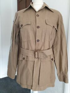 Very Rare WW2 Theatre Made USAAF CBI Tunic with Theatre Patches & named Docs