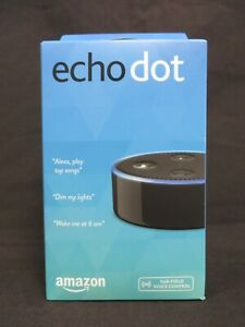 Amazon Echo Dot 2nd Generation in black - New in sealed box