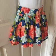 HOLLISTER CALIFORNIA  Women's Juniors Size XS  Multi-Color Floral Mini Skirt