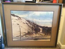 Original Dennis Frings Signed Landscape Watercolor