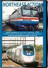 Northeast Corridor Action DVD NEW Valhalla Video Acela HHP-8 AEM7 X2000 FL9 E60s