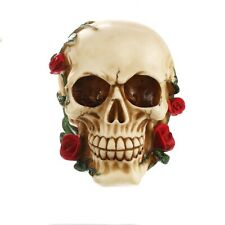 Human Skull Rose Head Silicone Mold Mould Chocolate Gypsum Candles Soap Clay