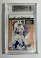 2000 Donruss Pref #11 PEYTON MANNING 1 of 1125 BGS 9 MINT Indianapolis Colts