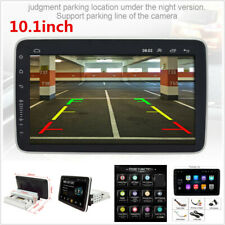 Single DIN Android 9.0 Car Stereo FM Radio 10.1in Touch Screen 1GB+16GB GPS Wifi