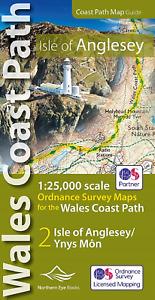 Isle of Anglesey Coast Path Map (WCP)