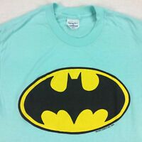 ViTG 70s 80s USA Made Batman T-Shirt Sz LARGE L Thin Comics Single Stitch
