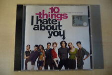 """CD COLONNA SONORA """"10 THINGS I HATE ABOUT YOU"""" 1999 - OST"""