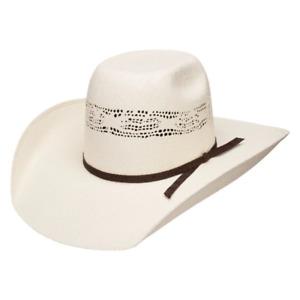 Resistol Bangora Straw Cowboy Hat - Super Duty