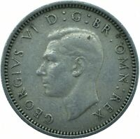 1951 COIN - SIXPENCE - George VI.  GREAT BRITAIN COIN    #WT23134