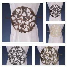 Circle Heart Broach / Clip / Buckle / Tie Back / Net Curtain