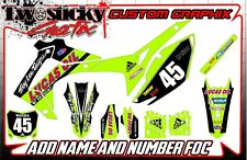 HONDA CRF 125/150/250/450  MOTOCROSS MX GRAPHICS STICKERS   ALL YEARS /