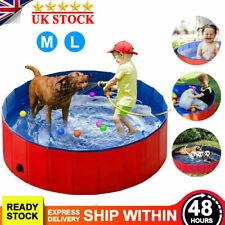 Portable Pet Bath Dog Swimming Pool Foldable Bath Paddling Pool Puppy Bathtub UK