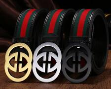 Design Hot Sale Fashion Men Women Metal buckle Multi Color Genuine Leather Belt