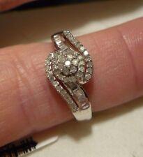 Diamond Right Hand Ring Sz. 7 63 diamonds .60tcw Msrp$999
