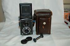 Yashica-A Vintage 1956 TLR Medium Format Film Camera. 8060772. Service. UK Sale