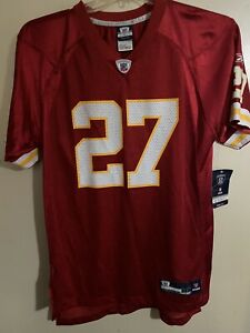 NFL-Reebok-Kansas City Chiefs-Larry Johnson #27 Jersey - Youth X-Large 18/20 NWT