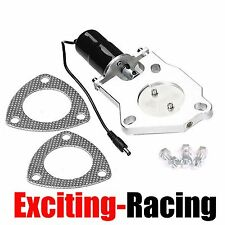 """3"""" Electric Exhaust Catback Downpipe Cutout E-Cut Out Valve Motor Kit Only"""
