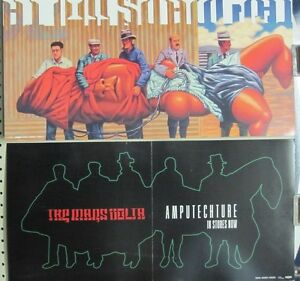 The Mars Volta 2006 Amputechture 2 Sided Promotional Poster Mint New old stock