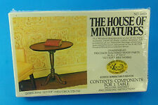 DOLL HOUSE THE HOUSE OF MINIATURES 40008 Queen Anne Tilt-Top Table  NEW UNOPENED