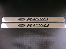 FORD RACING chrome door sills sill plate