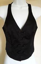 Waist Length Cotton Blend Waistcoats for Women