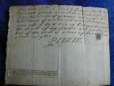 George, Earl Panmure - Jacobite Statesman signed document from 1678