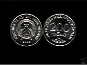 VIETNAM 200 DONG NEW 2003 X 1000 Pcs Lot FLOWER TREE UNC MONEY 1,000 COIN