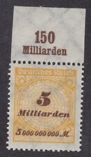 Germany 1923 - 5 Milliarden - Brown Yellow - SG329 - MNH (C25H)
