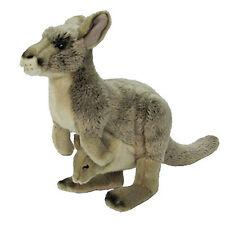 PLUSH SOFT TOY Korimco Kangaroo & Joey 32cm - Australian Australia Wildlife