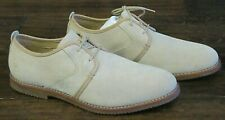 Mens Timberland light beige leather suede smart casual shoes Size UK 10.5  EU 45