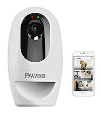 Pawbo Life Pet Camera (PPC-21CL): 720p HD Video, 2-Way Talk, Laser & Treat<USED>