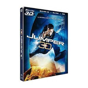 Jumper BLU-RAY 3D + BLU-RAY + DVD NEUF
