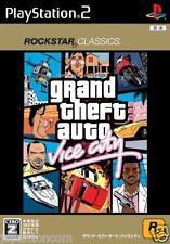 Used PS2 Grand Theft Auto: Vice City SONY PLAYSTATION 2 JAPAN