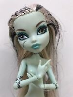 Monster High Nude Doll W/ arms & hands. Frankie Stein Gloom Beach / OOAK Play