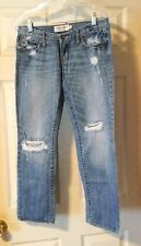 Abercrombie & Fitch Heavily Distressed Jeans Size 2 ~ 32x27