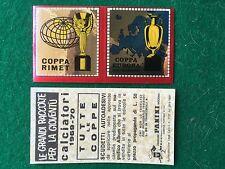 CALCIATORI 1969-70 COPPA RIMET COPPA EUROPA SCUDETTO Figurina Panini (NEW)