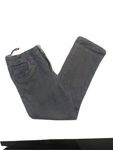 H&M Girls Grey Skinny Jeans, Age 4-5, 110cm VGC