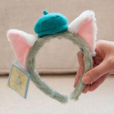 New Disney Parks Gelatoni Cat Plush Headband Festival Party Costume