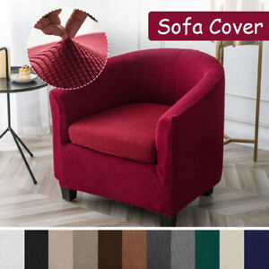 Polyester Stretch Sofa Cover Tub Chair Cover Skid Resistance Furniture Protector