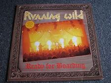 Running Wild-Ready for Boarding LP-1988 Germany-Noise-33 U/min-Album-Heavy Metal