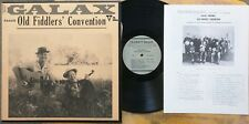 COUNTRY FIDDLE LP: GALAX VA. OLD FIDDLERS' CONVENTION Folkways 2435 with booklet