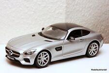 MERCEDES BENZ GT AMG ( C190 ) 2014 silver - 1:18 MAISTO