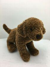 "Douglas Toy Plush ""Retriever"" Puppy Dog Curly Coat Stuffed Animal 8"" Vintage Euc"