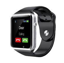 Montre connectée Smartwatch A1 Androïd avec emplacements carte SIM et microSD