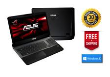 Asus ROG G75VW i7-3630QM 2.4GHz, 12GB RAM, 500GB HDD, Windows 10 Pro + Warranty
